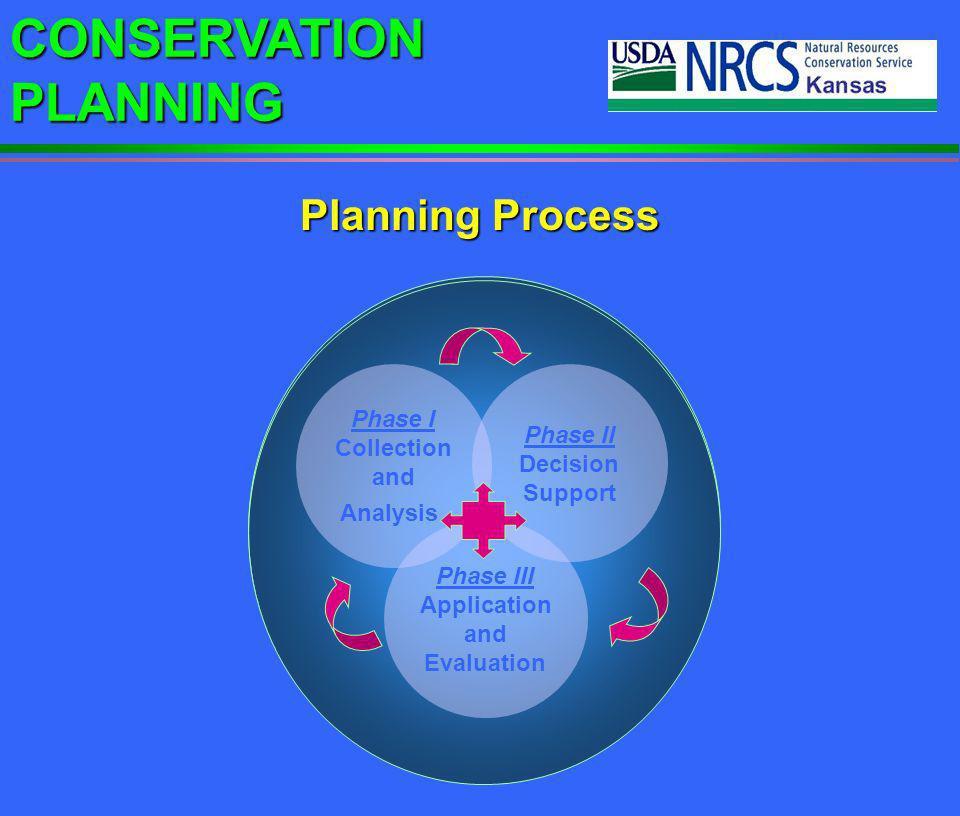 Planning Process Phase I Phase II Collection Phase I Phase II Decision