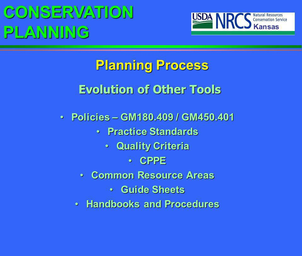 Evolution of Other Tools Handbooks and Procedures