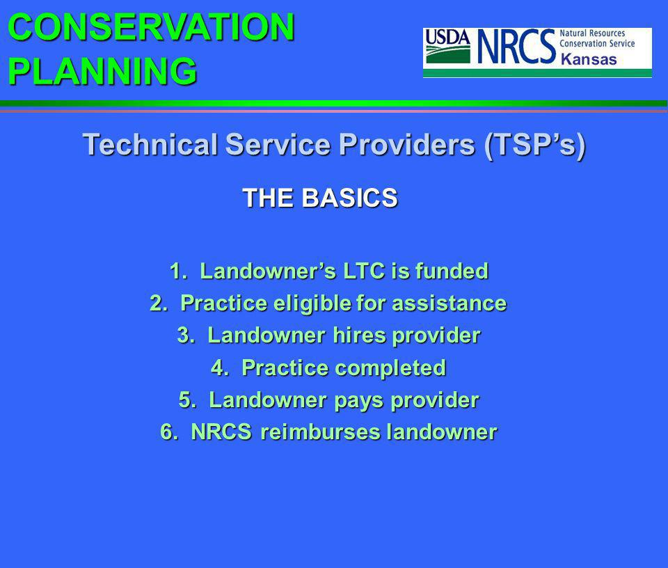 Technical Service Providers (TSP's)