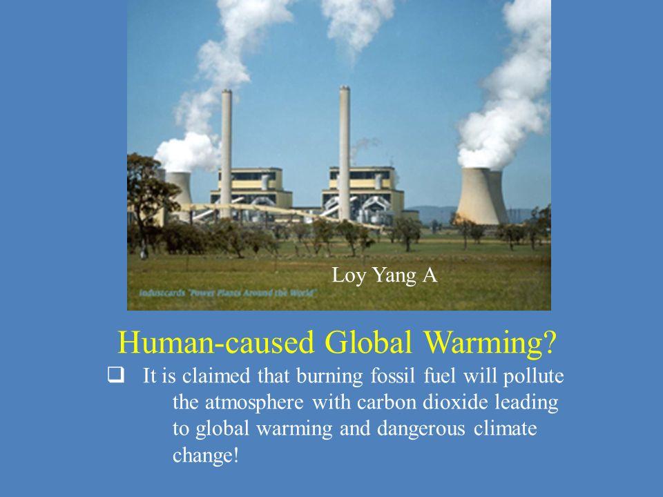 Human-caused Global Warming