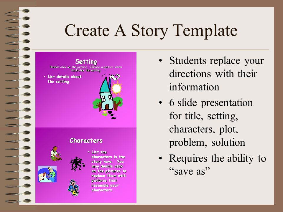 Create A Story Template