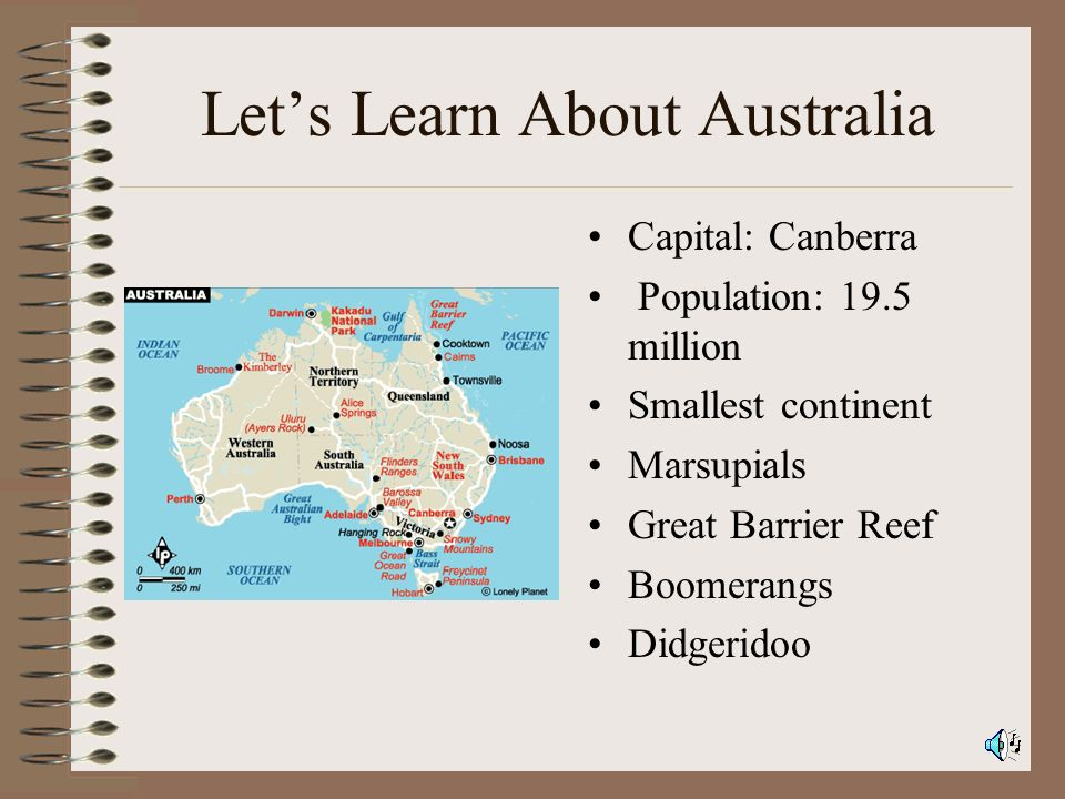 Let's Learn About Australia