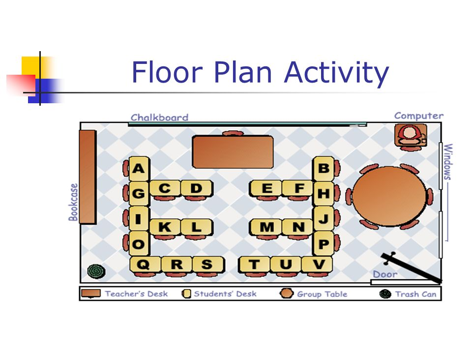Floor Plan Activity