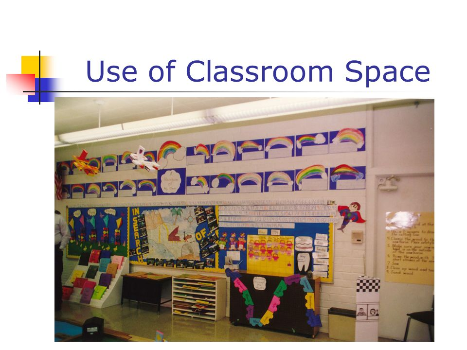 Use of Classroom Space