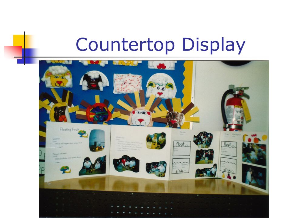 Countertop Display