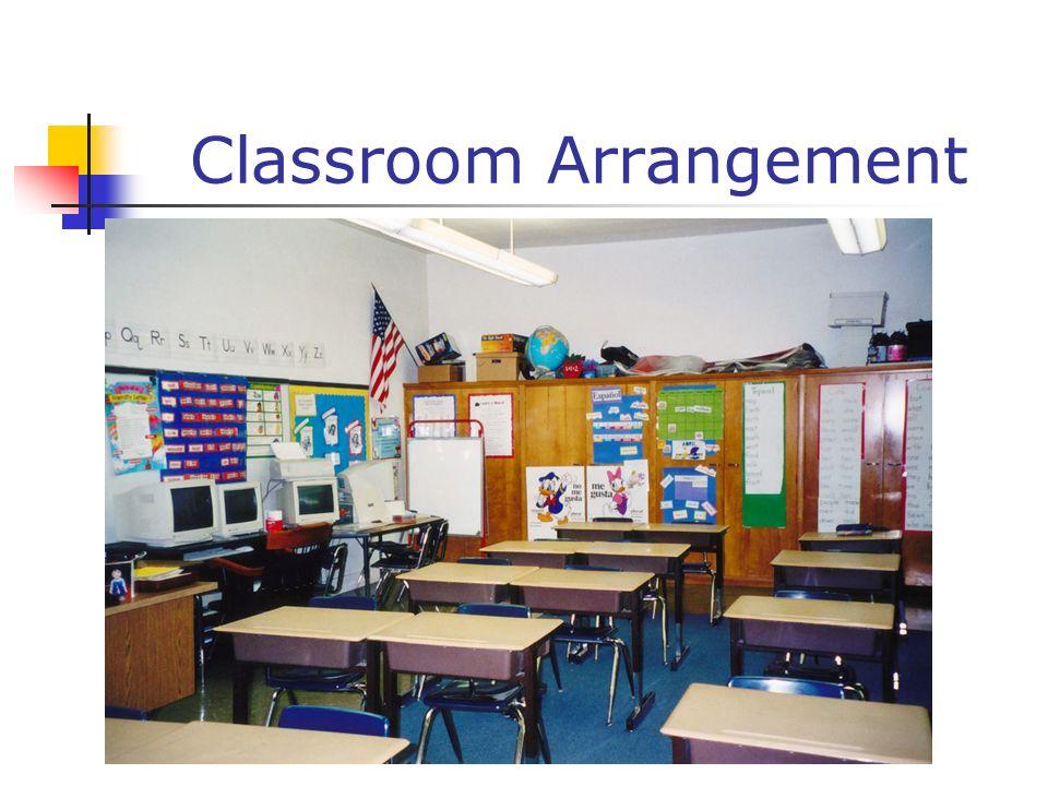 Classroom Arrangement