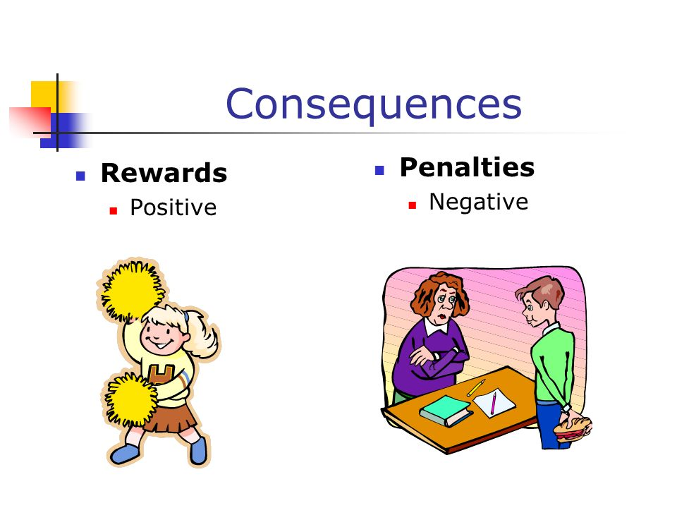 Consequences Penalties Negative Rewards Positive