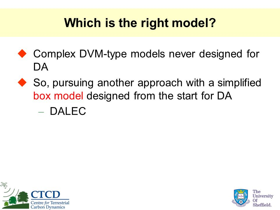 Which is the right model