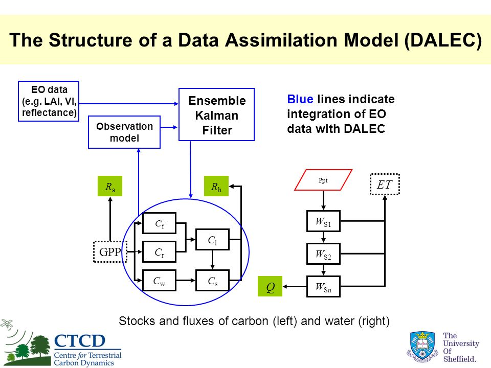 The Structure of a Data Assimilation Model (DALEC)