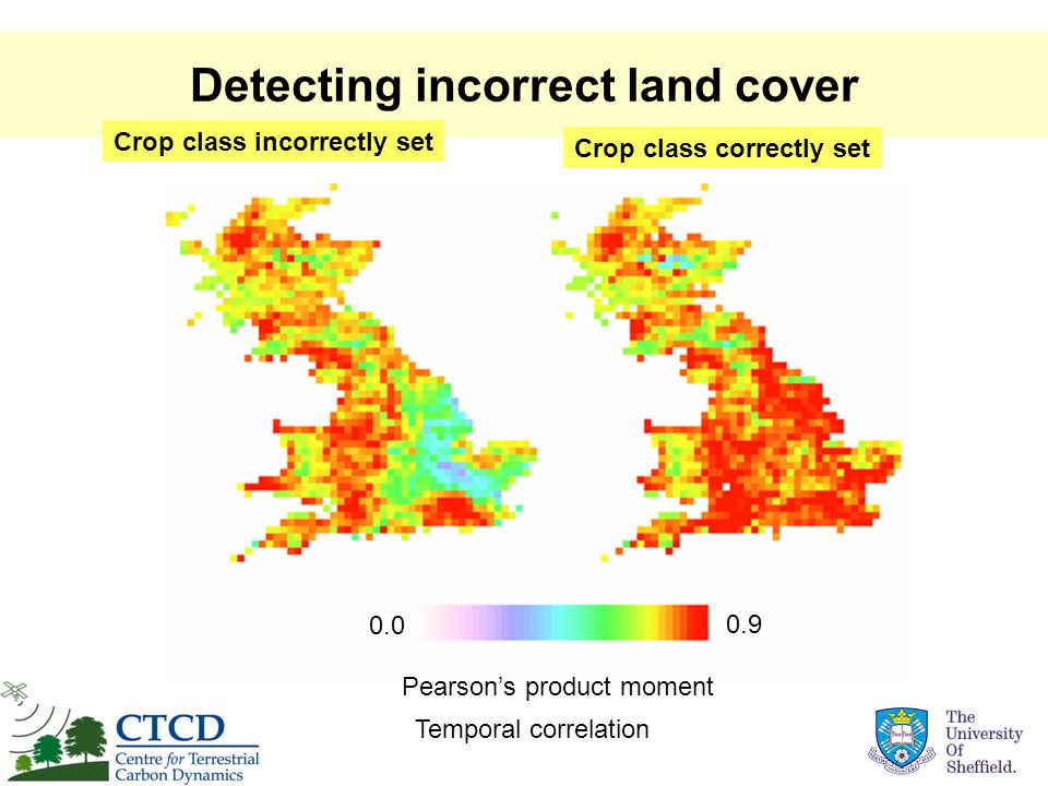 Detecting incorrect land cover