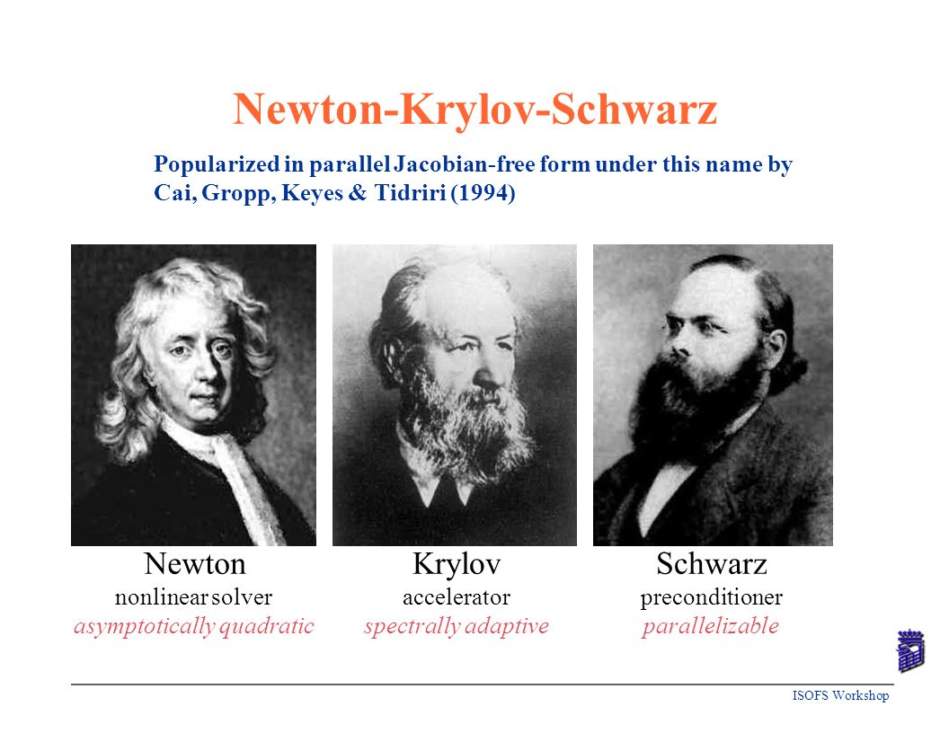 Newton-Krylov-Schwarz