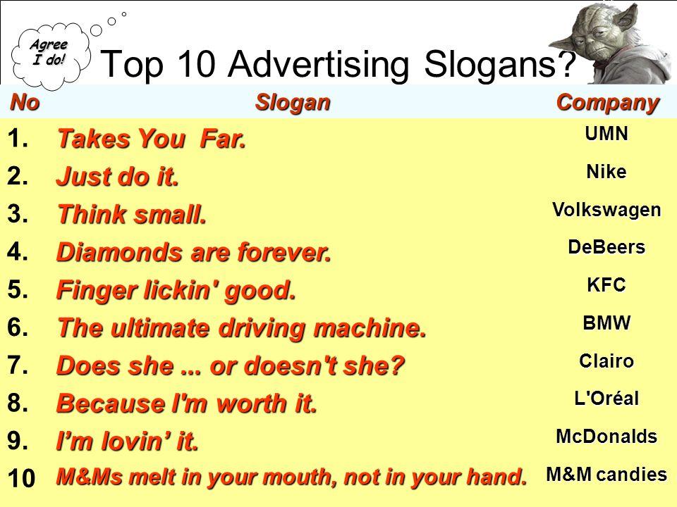 Top Ten Ad Slogans Viagra
