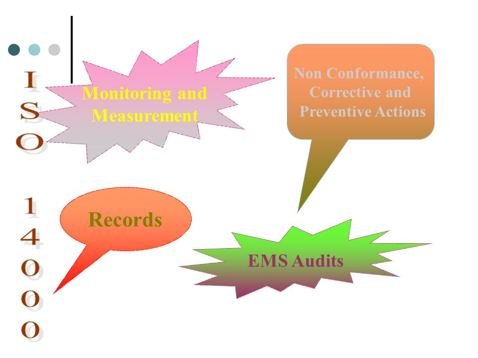 ISO 14000 Records Monitoring and Measurement EMS Audits