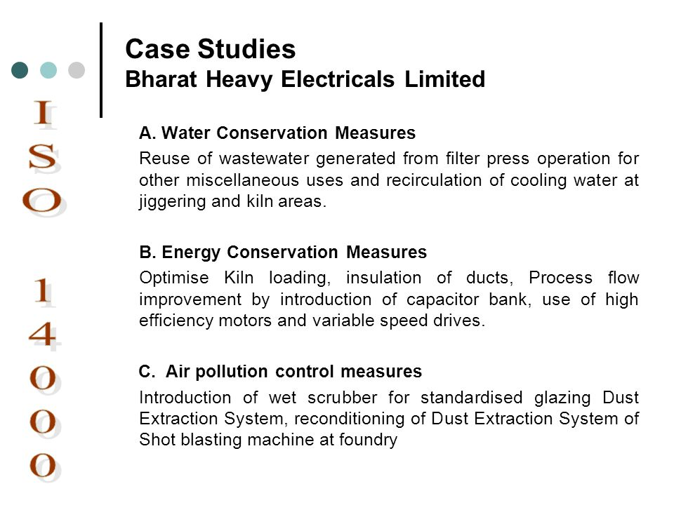 Case Studies Bharat Heavy Electricals Limited