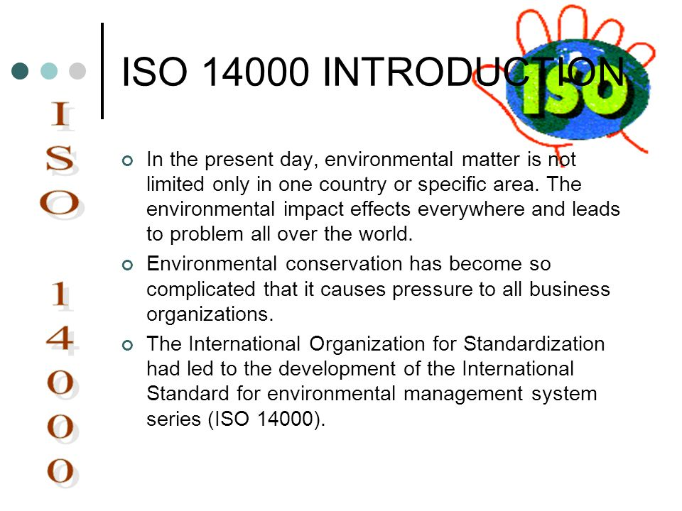ISO 14000 INTRODUCTION