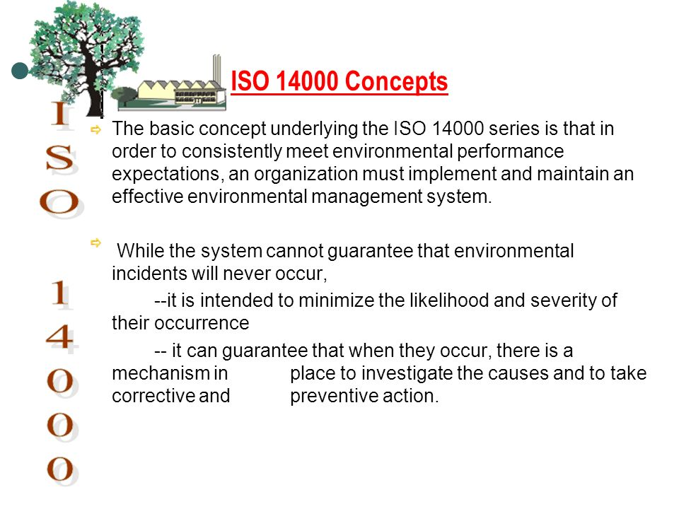 ISO 14000 Concepts.