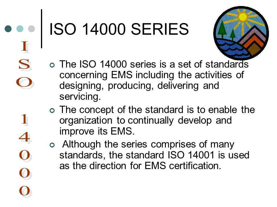 ISO 14000 SERIES