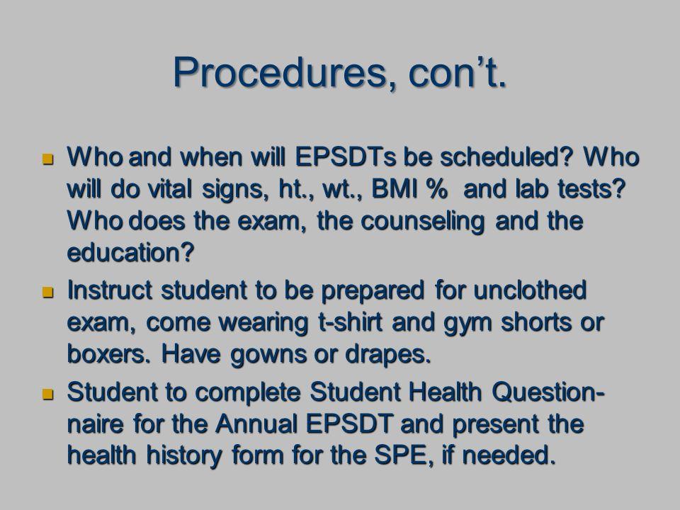 Annual Wellness Exam EPSDT - ppt download
