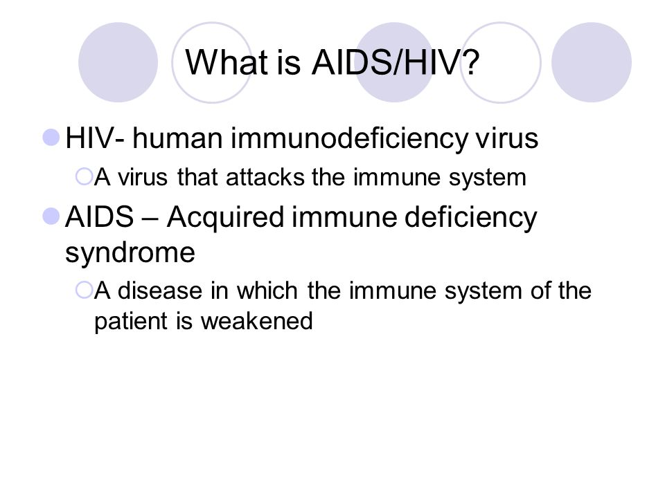 understanding the mutation of the human immunodeficiency virus hiv Human immunodeficiency virus the virus that causes aids, which is the most advanced stage of hiv infection hiv is a retrovirus that occurs as two types: hiv-1 and hiv-2.