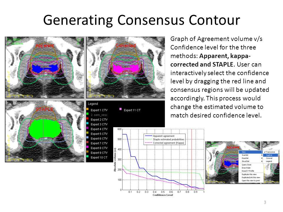Generating Consensus Contour