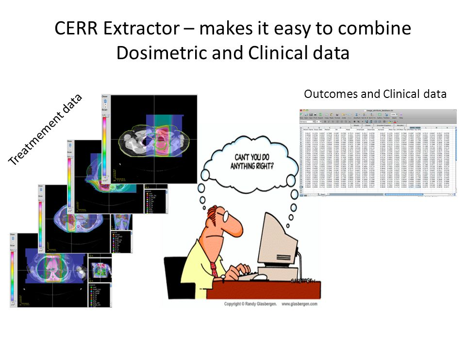 CERR Extractor – makes it easy to combine Dosimetric and Clinical data
