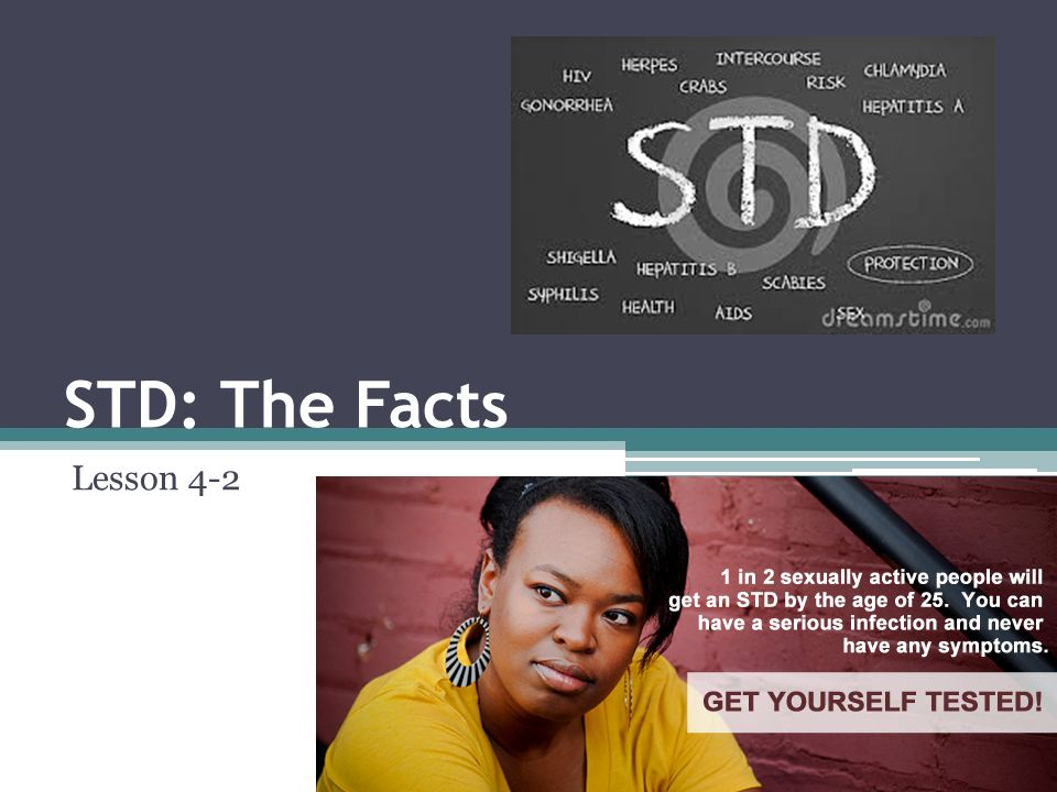 STD: The Facts Lesson 4-2