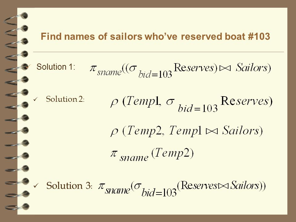 Find names of sailors who've reserved boat #103
