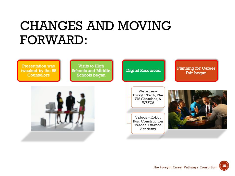 Changes and Moving Forward: