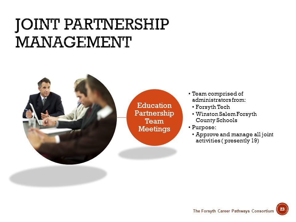 Joint Partnership Management