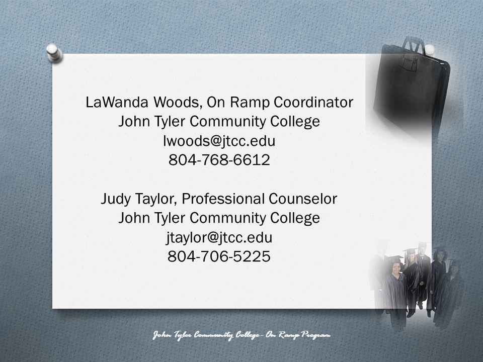 John Tyler Community College - On Ramp Program
