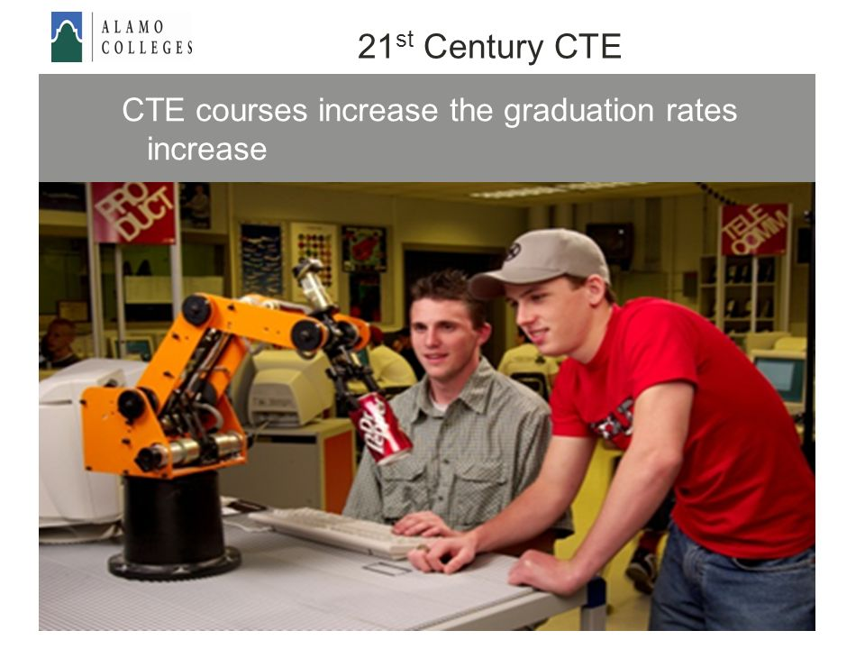 CTE courses increase the graduation rates increase