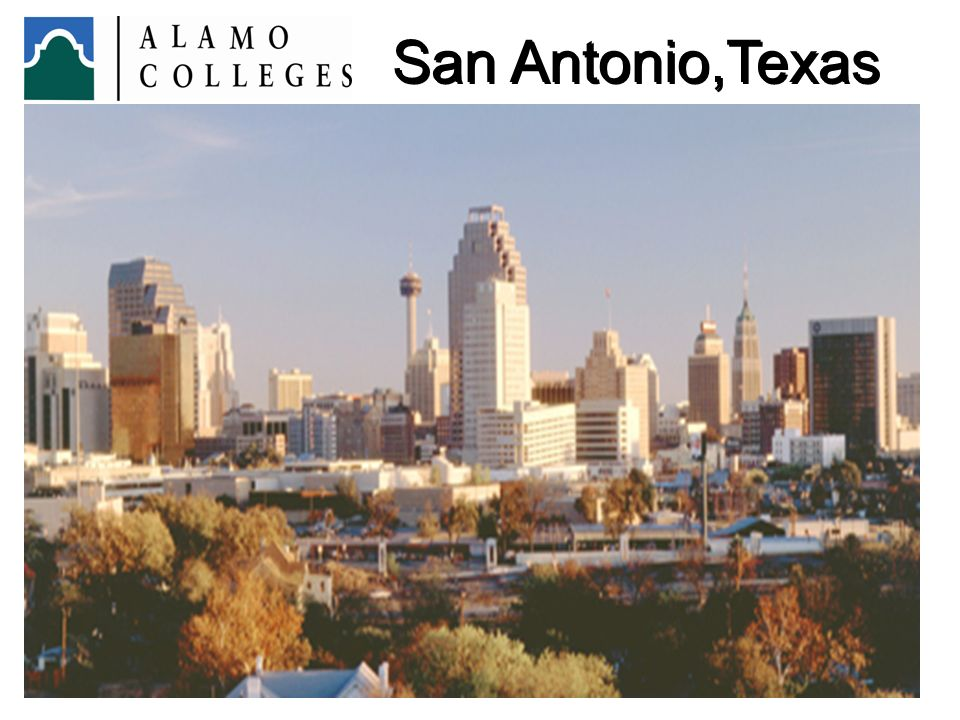 San Antonio,Texas We are a diverse community of approximately 1.7 million residents approximately 60% Hispanic.