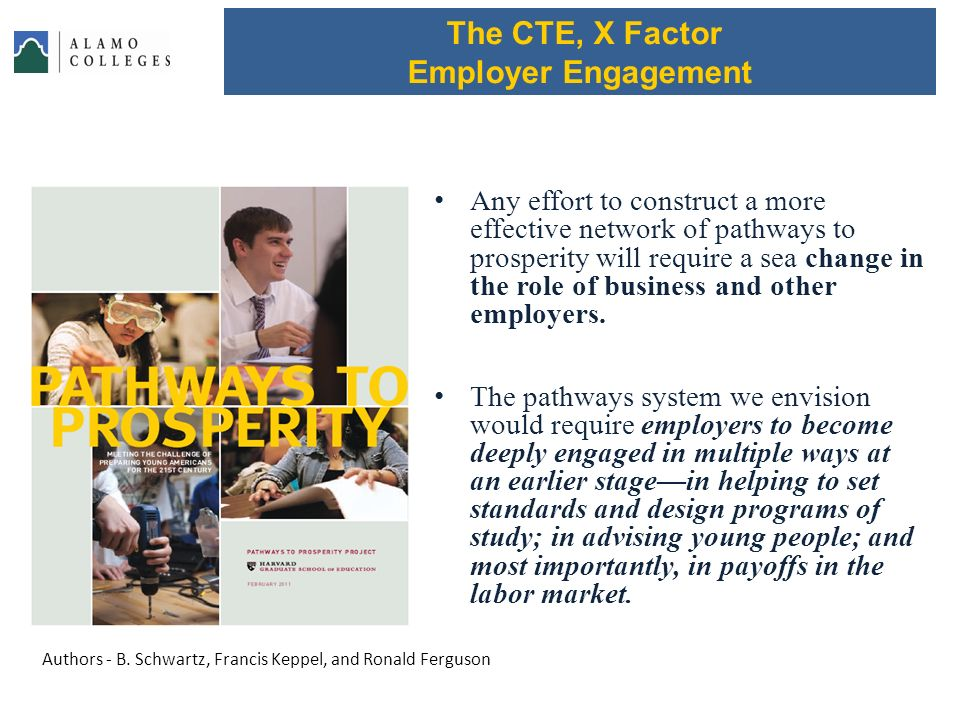 The CTE, X Factor Employer Engagement