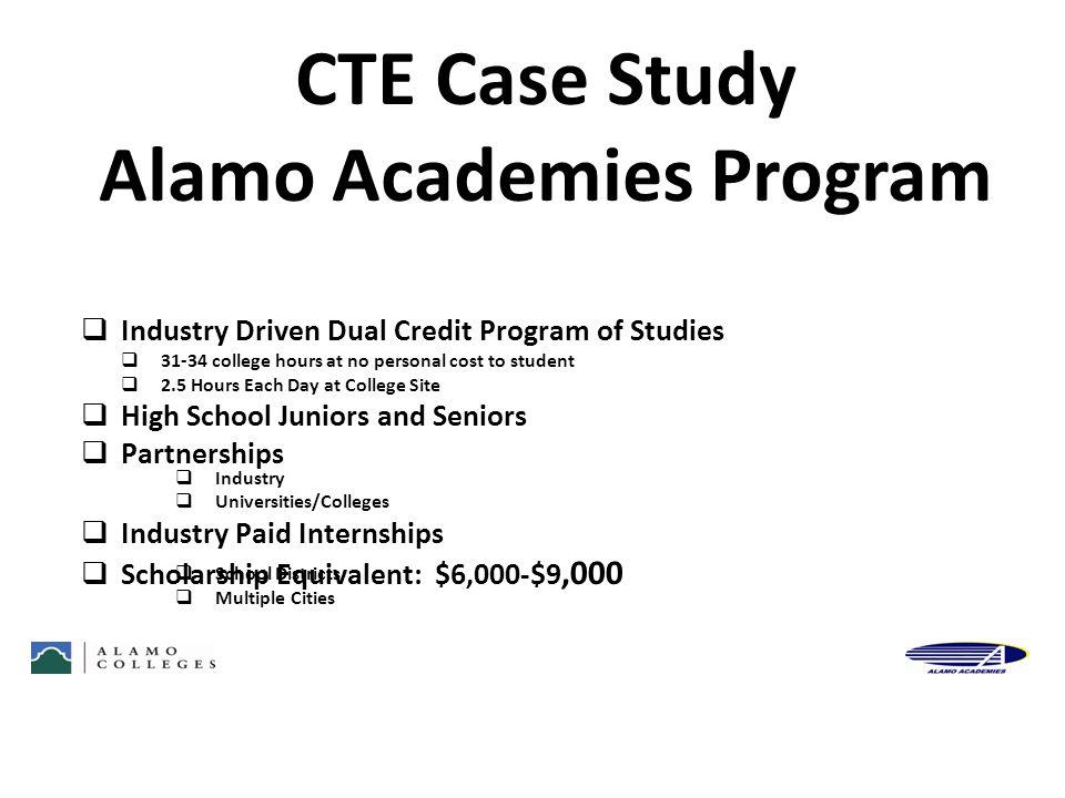 Alamo Academies Program