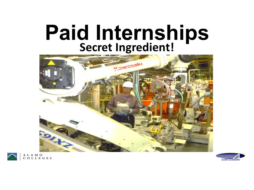 Paid Internships Secret Ingredient! 48