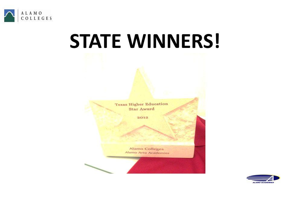 STATE WINNERS! 50