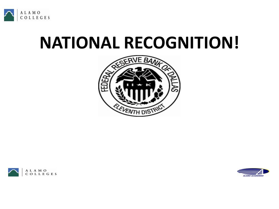 NATIONAL RECOGNITION! 52