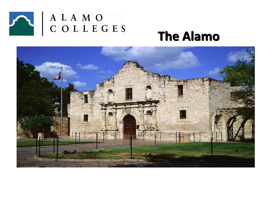 6, 1 The Alamo. You are also on hollowed ground. Approximately three blocks from here you will find the Alamo Shrine.