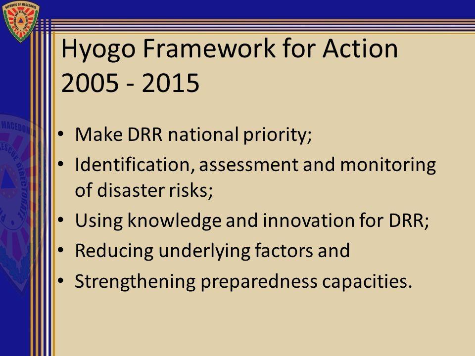 Hyogo Framework for Action 2005 - 2015