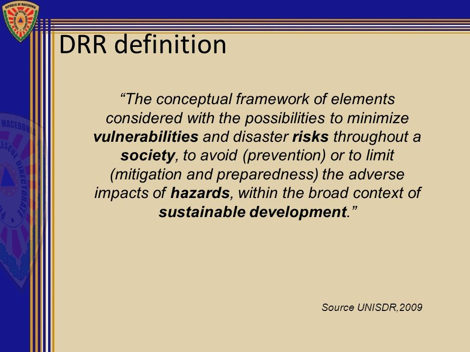 DRR definition