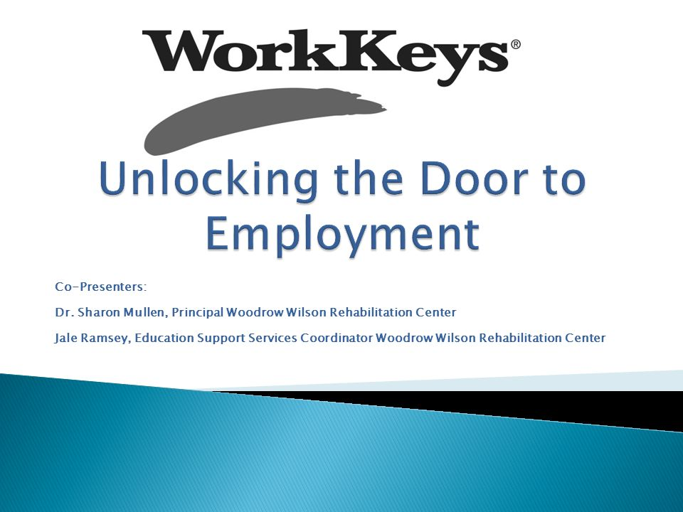 Unlocking the Door to Employment