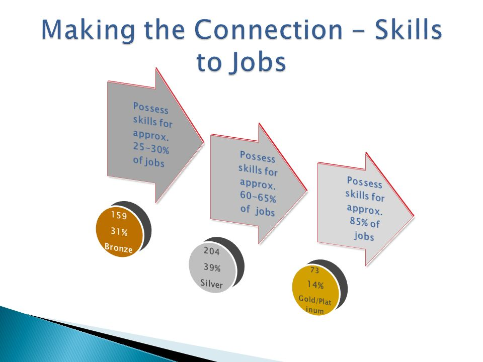 Making the Connection - Skills to Jobs