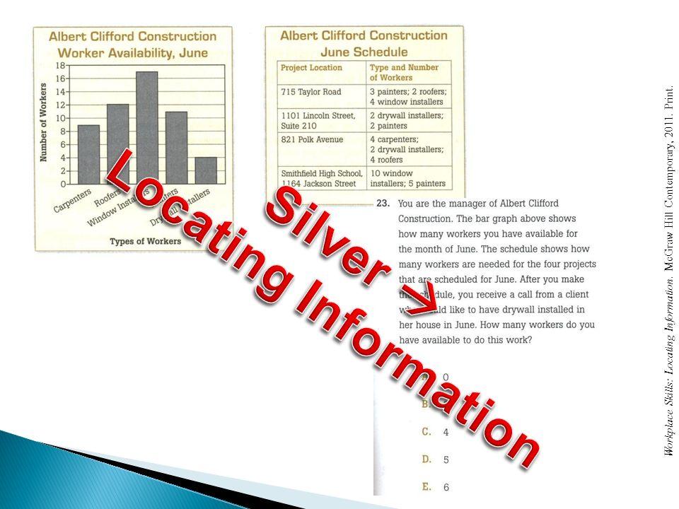 Locating Information Silver 