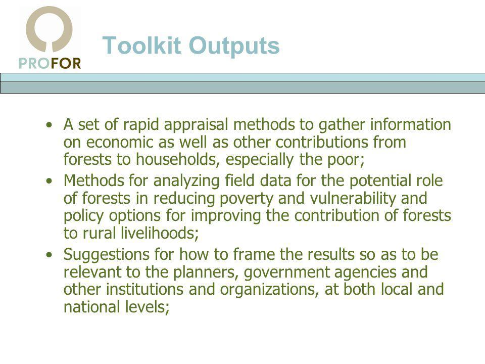 Toolkit Outputs