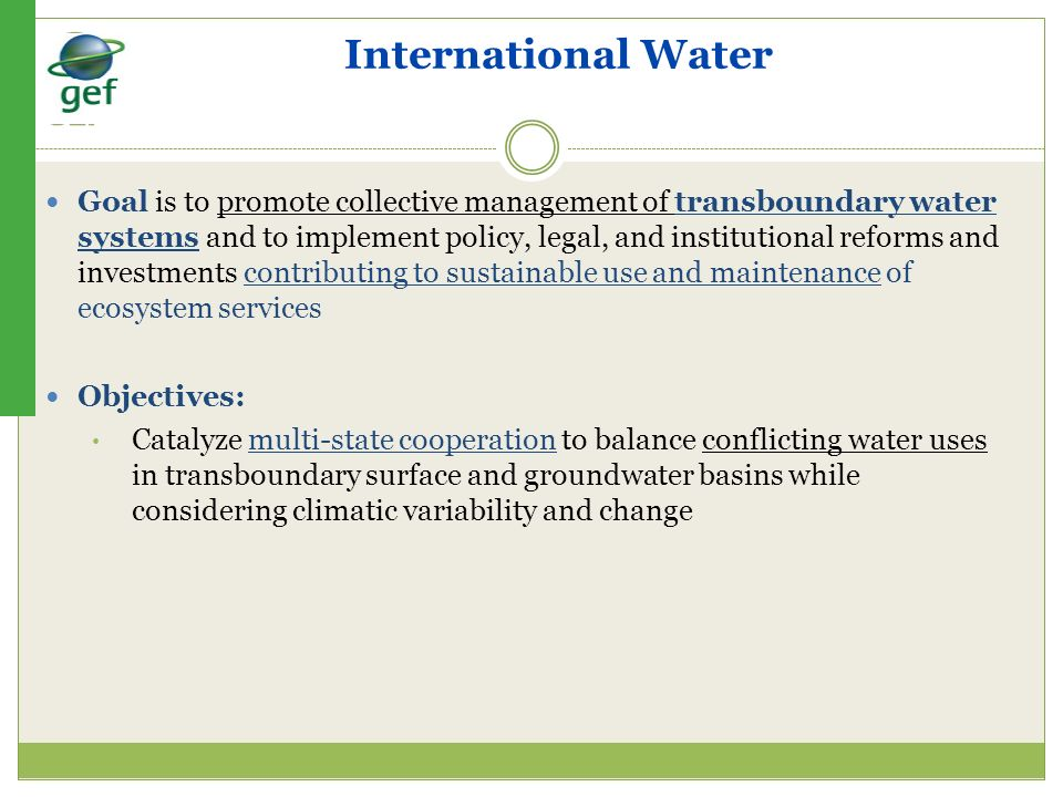 International Water