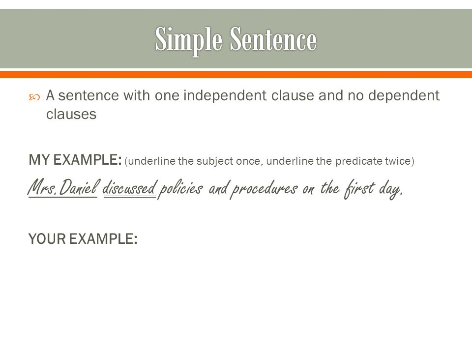 circle the subject and underline the predicate pdf