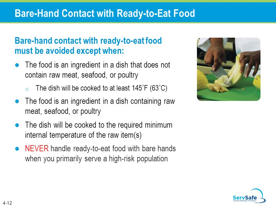 Food Safety Bare Hands ~ Personal hygiene and contamination ppt download