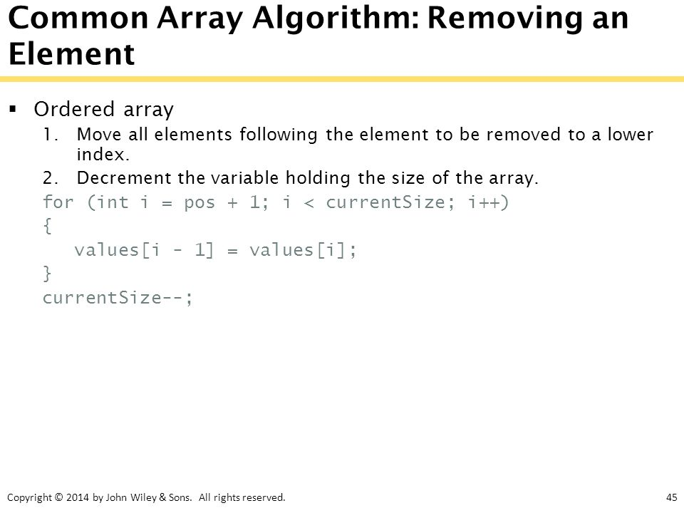 chapter goals to collect elements using arrays and array
