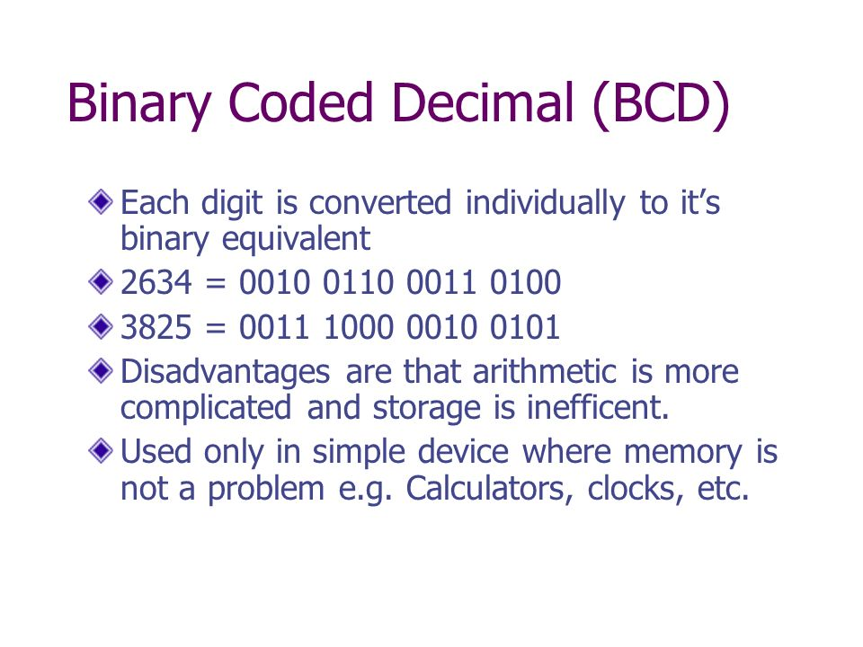 The number systems of Computer Science - ppt video online ...