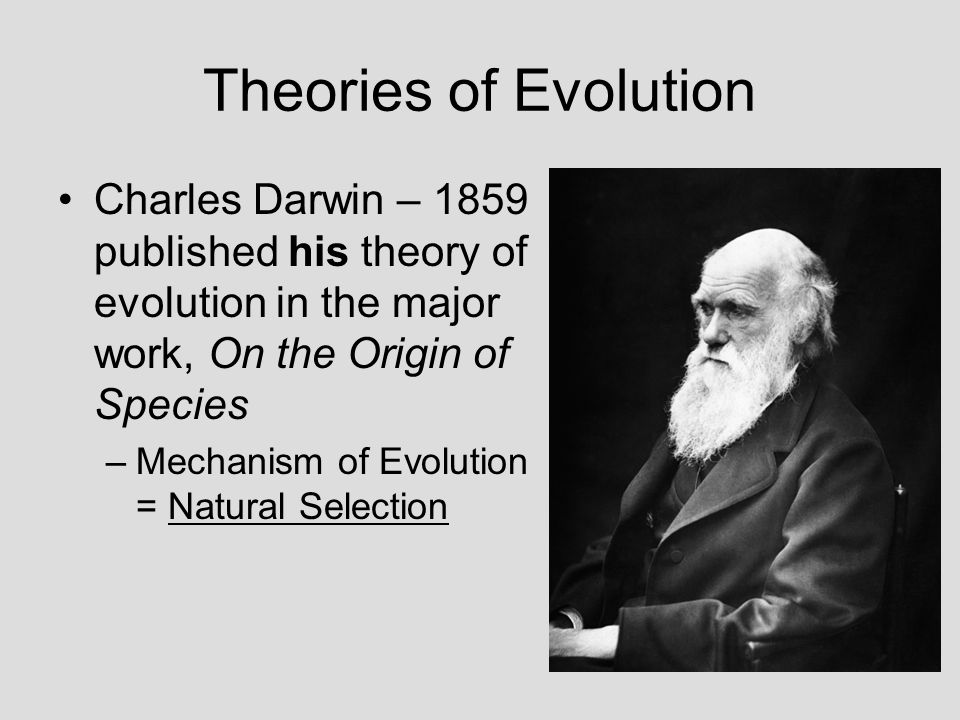 darwin and his theory of evolution